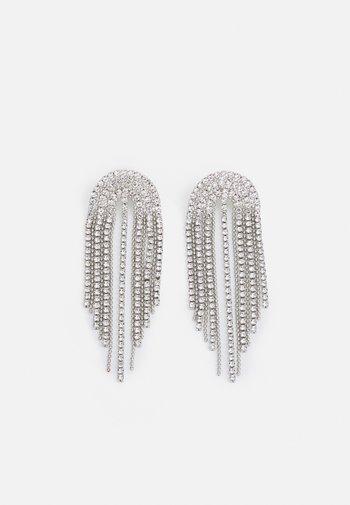 WATERFALL - Earrings - silver-coloured