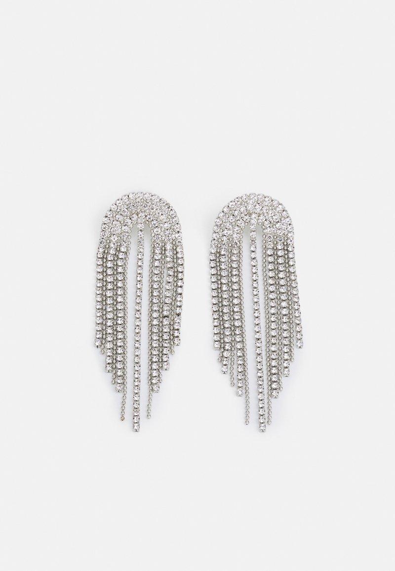 Topshop - WATERFALL - Earrings - silver-coloured