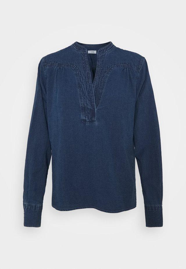 NYSSA - Blouse - mid blue