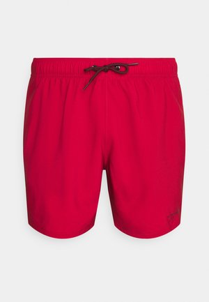SOLID GUARD - Swimming shorts - red