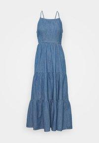 Pieces - PCTINKA STRAP MIDI DRESS - Maxi dress - medium blue - 0