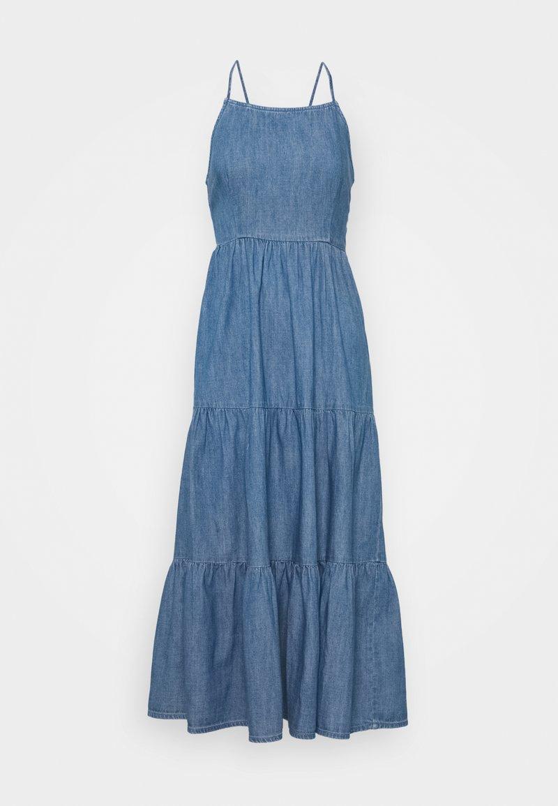 Pieces - PCTINKA STRAP MIDI DRESS - Maxi dress - medium blue