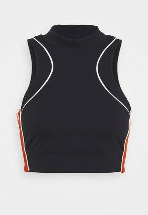 NEW HEIGHTS BRAMI - Light support sports bra - black/red