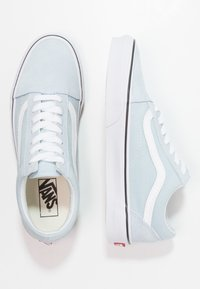 Vans - UA OLD SKOOL - Matalavartiset tennarit - baby blue/true white - 3