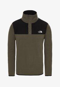 The North Face - GLACIER SNAP - Fleece jumper - green - 2
