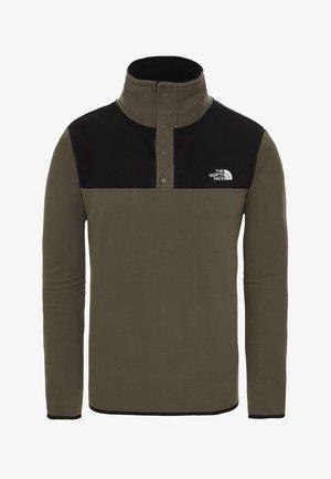 GLACIER SNAP - Bluza z polaru - green
