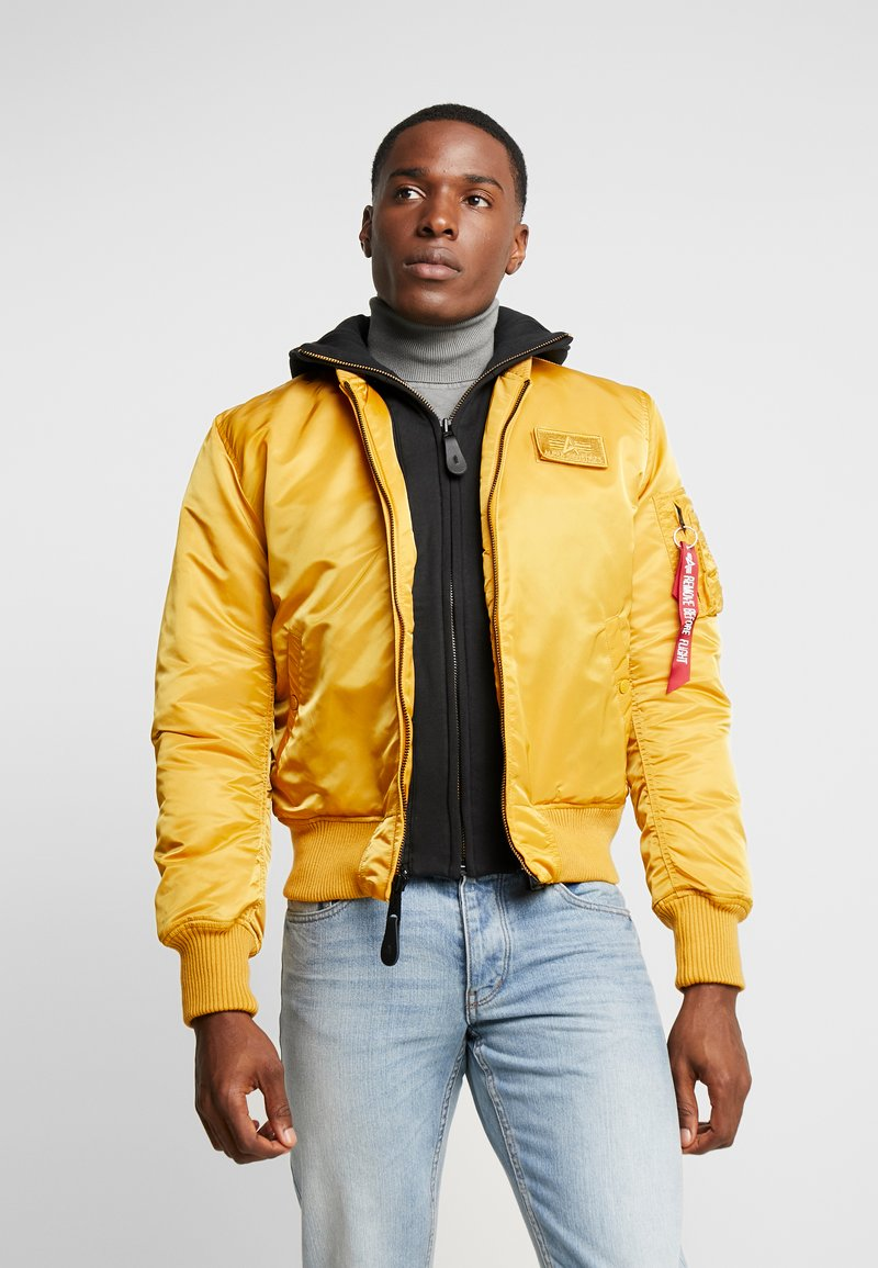 Alpha Industries - Bomber Jacket - wheat