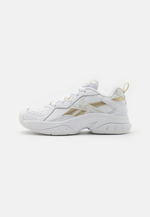 XEONA UNISEX - Sports shoes - white/gold metallic