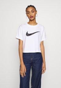 Nike Sportswear - T-shirt z nadrukiem - white/black - 0