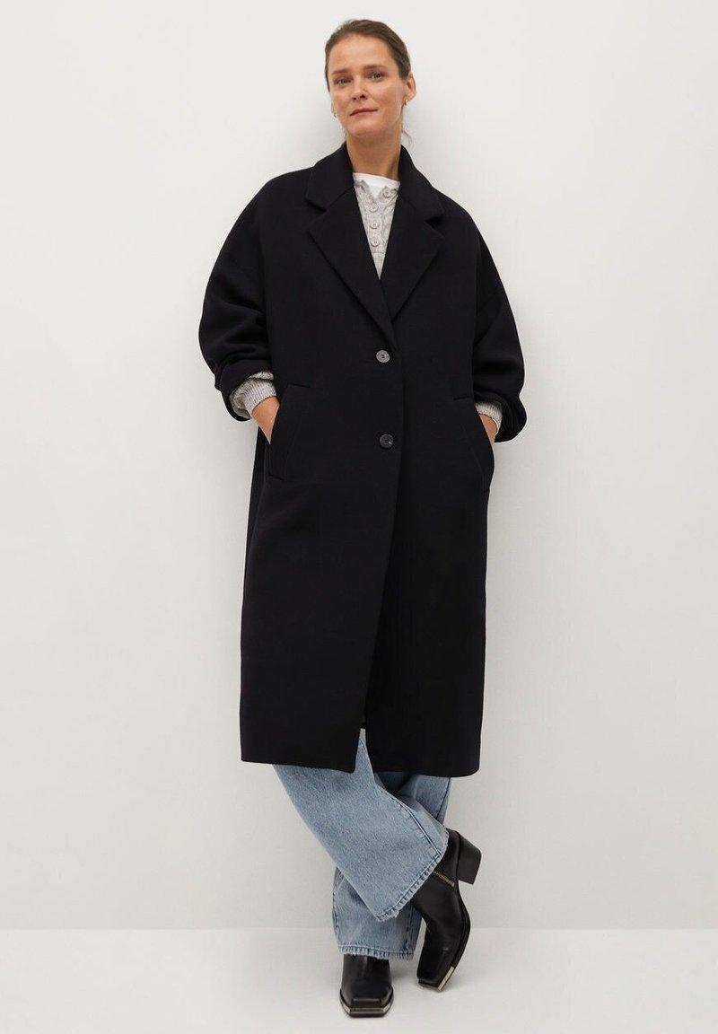 Mango - GAUGUIN - Classic coat - schwarz