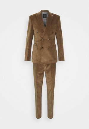 ASTON SUIT - Oblek - brown