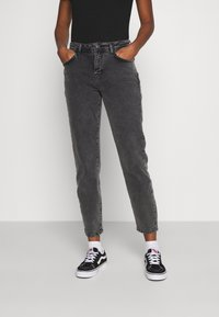 Noisy May - NMOLIVIA  - Slim fit jeans - dark grey denim - 0