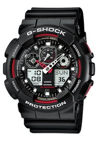G-SHOCK - G-SHOCK - Chronograph watch - black/red - 0