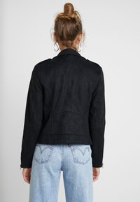 Vila - VIFADDY JACKET - Faux leather jacket - black - 2