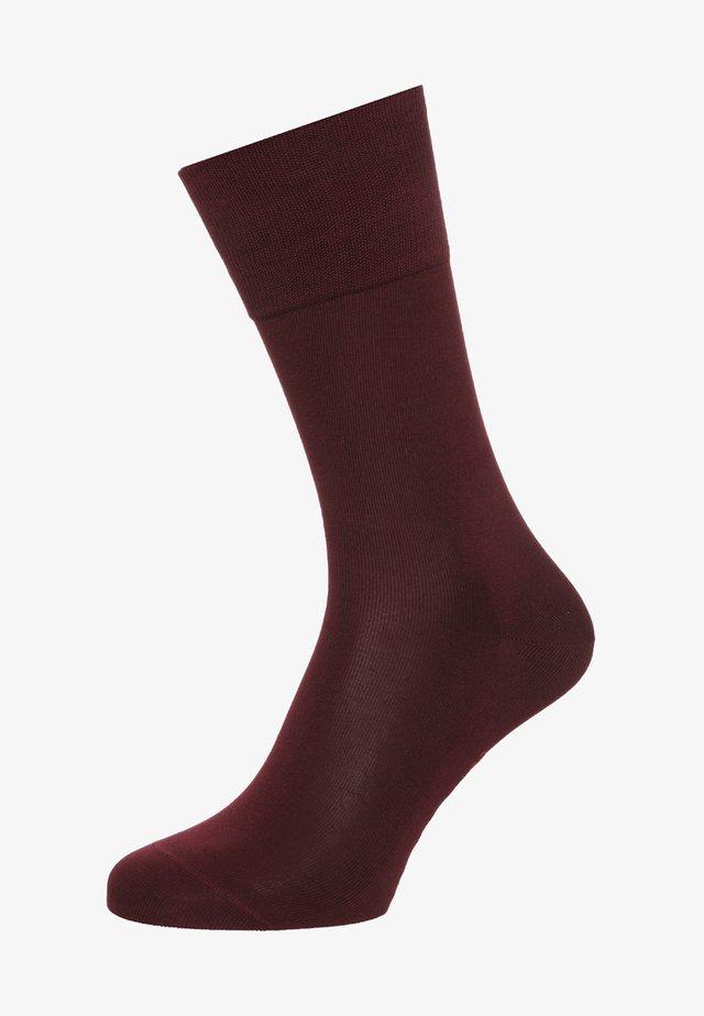 TIAGO - Socks - barolo