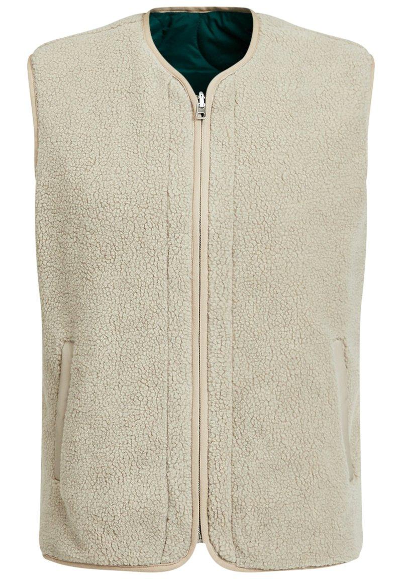 WE Fashion - Waistcoat - beige