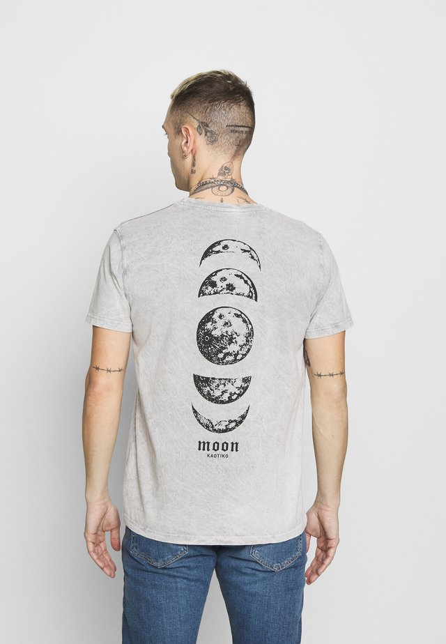TIE DYE VENUS - Print T-shirt - grey
