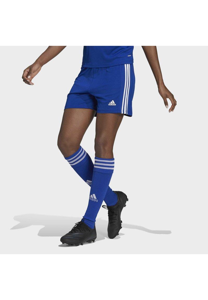 adidas Performance - SQUADRA - Sports shorts - royblu/white