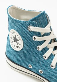 Converse - CHUCK TAYLOR ALL STAR - Höga sneakers - egyptian blue/agate blue/egret - 5