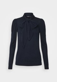 Lauren Ralph Lauren - TIE NECK - Jumper - navy - 4