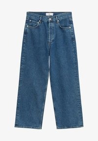 Mango - GABRIELA - Flared Jeans - donkerblauw - 5