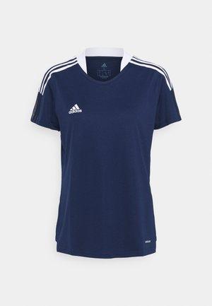 TIRO 21 - Camiseta estampada - navy blue