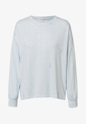 MOON - Pyjamashirt - light blue