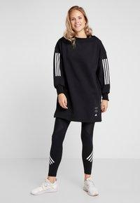 adidas Performance - TUNIC - Sweater - black - 1