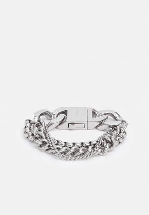 HALFTONE UNISEX - Bracelet - silver-coloured