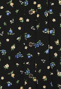 Forever New Curve - AINSLEY BUTTON THROUGH MIDI SKIRT - A-line skirt - black - 4