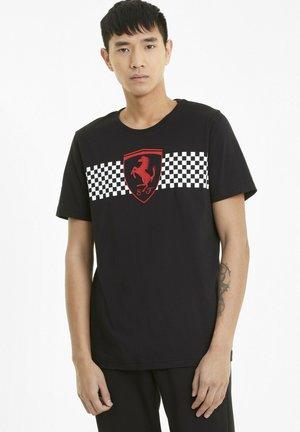 SCUDERIA FERRARI  - T-shirt imprimé - black