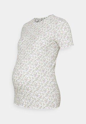 MLASTRID - T-shirts med print - snow white