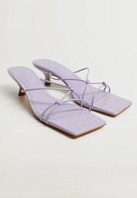 Mango - SIMILAR - Sandals - lila - 4