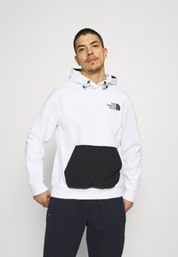 The North Face - TECH HOODIE - Sweatshirt - white - 0