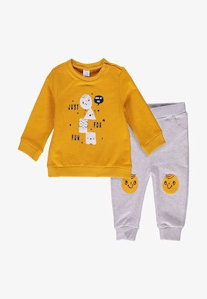 SET - Sweatshirt - ecru