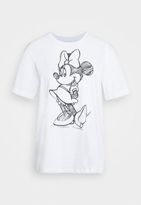 Even&Odd - T-shirt z nadrukiem - white - 3
