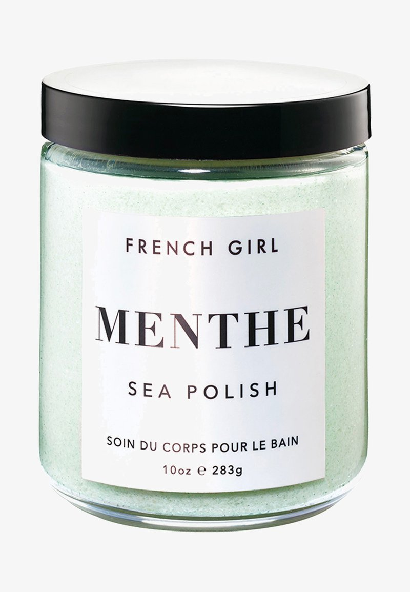 French Girl - MINT SEA POLISH - SMOOTHING TREATMENT - Body scrub - -