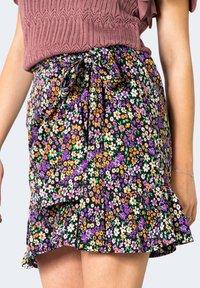 ONLY - ONLOLIVIA WVN NOOS - A-line skirt - violet - 3