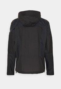 The North Face - STEEP TECH LIGHT RAIN JACKET - Waterproof jacket - black - 7