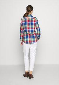 Polo Ralph Lauren - GEORGIA CLASSIC LONG SLEEVE - Bluser - blue/red - 2