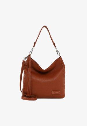 STACY  - Shopping bag - cognac