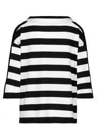 Monari - Sweatshirt - schwarz ringel - 2