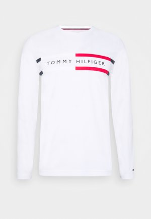 CHEST STRIPE - Langærmede T-shirts - white