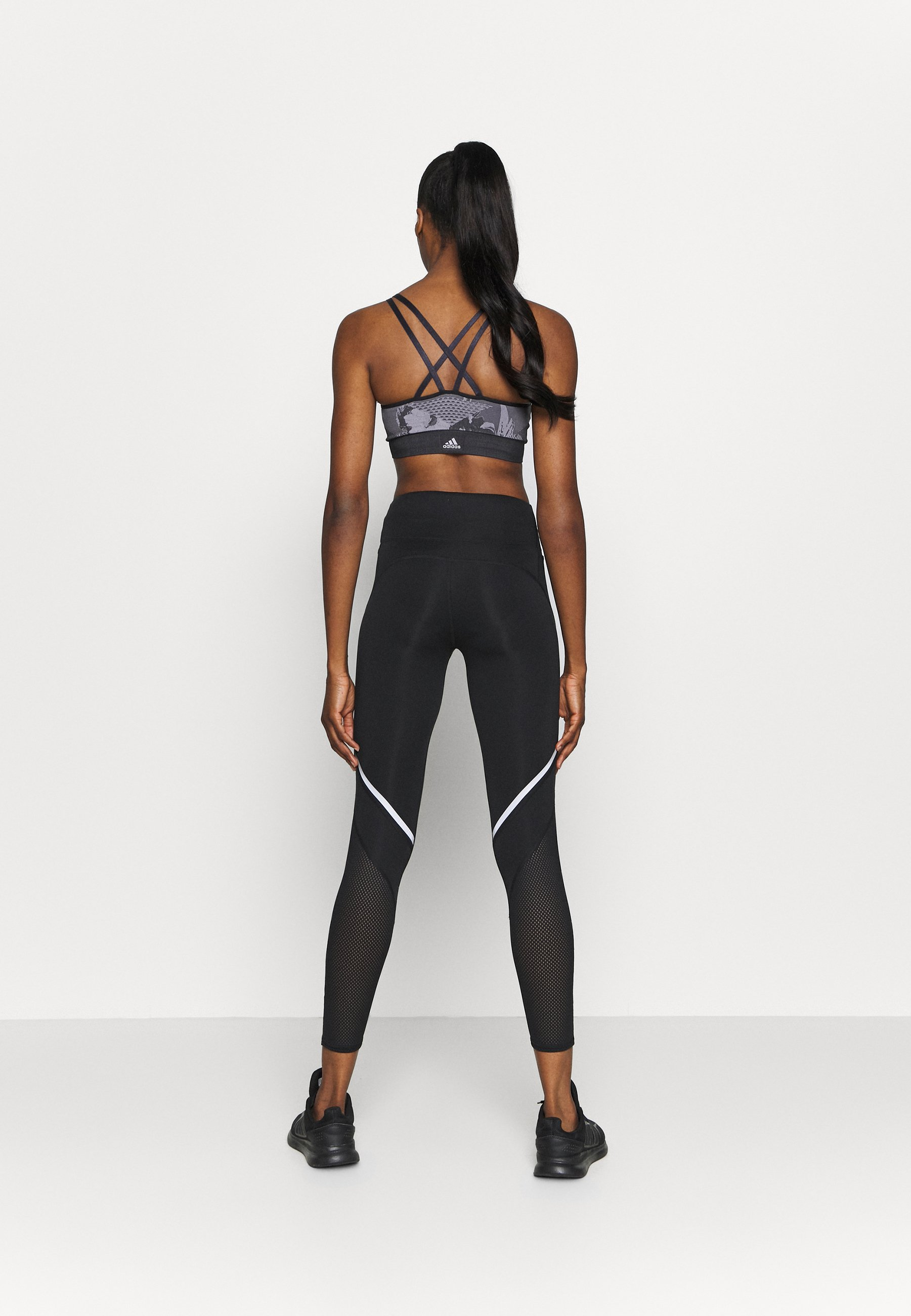 adidas Performance HOW WE DO - Leggings - black KTuqg