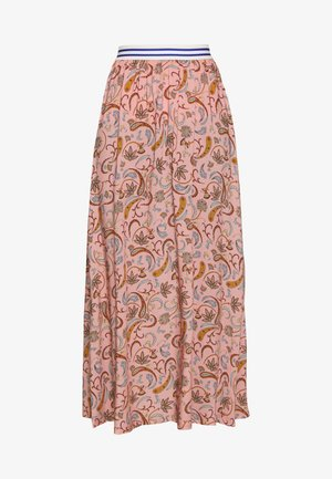 FORGET  - Maxi skirt - rose