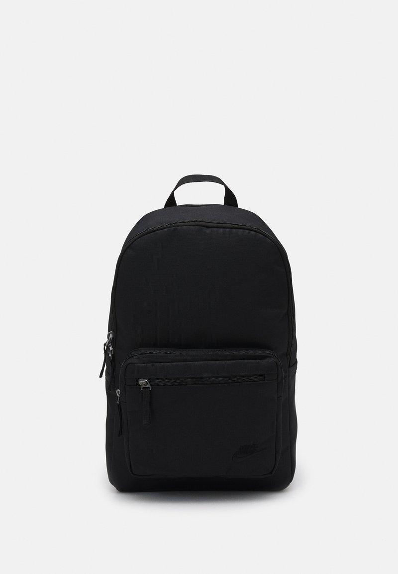 Nike Sportswear - HERITAGE UNISEX - Rucksack - black/black/black