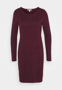 Jumper dress - bordeaux red
