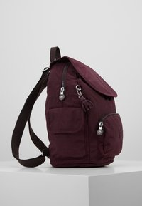 Kipling - CITY PACK S - Reppu - dark plum - 3
