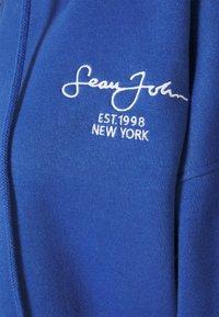 Missguided - SJXMG ZIP THROUGH CROP HOODY - Zip-up hoodie - blue - 2