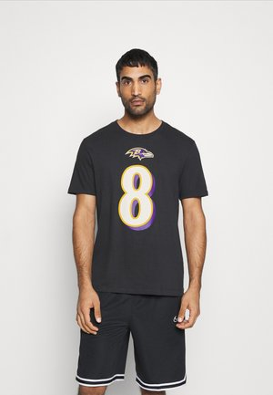NFL BALTIMORE RAVENS PLAYER ESSENTIAL - T-shirts print - black